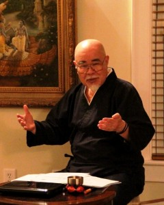 Hyakuten Inamoto teaching in Atlanta GA